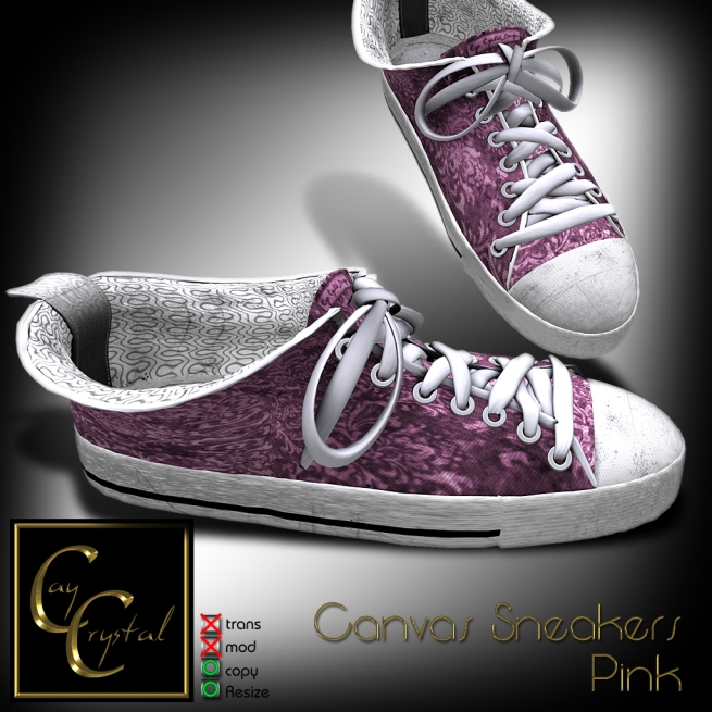 Canvas Sneakers No1 Pink